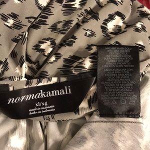 4830fe9682084 Norma Kamali Tops - Nordstrom Norma Kamari Draped Leopard Print Blouse